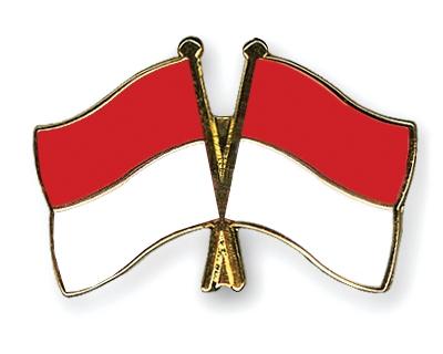 Perbedaan Bendera Indonesia & Monaco – obra @brik